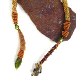 Copperhead Snake Necklace